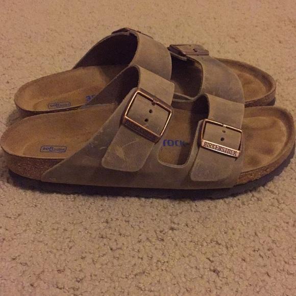 3f37bda459 Birkenstock Arizona Leather Tabacco Brown Sandals